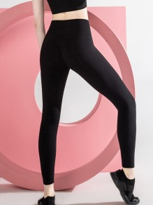 Black Yoga Sports High Waisted Skinny Long Legging